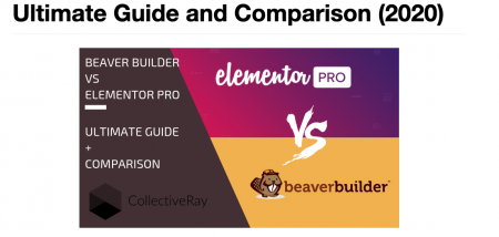 Elementor vs Beaver Builder review