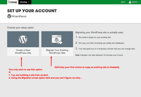 Trouble moving a WordPress site to Godaddy - Some Pointers