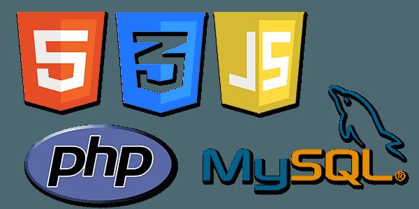 PHP MySQL CSS JavaScript customization