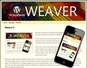 Weaver Theme Demo List - why I like this WordPress theme 3